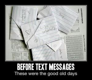 before-text-messages
