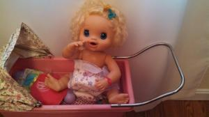 Is this doll pointing and laughing at ME?