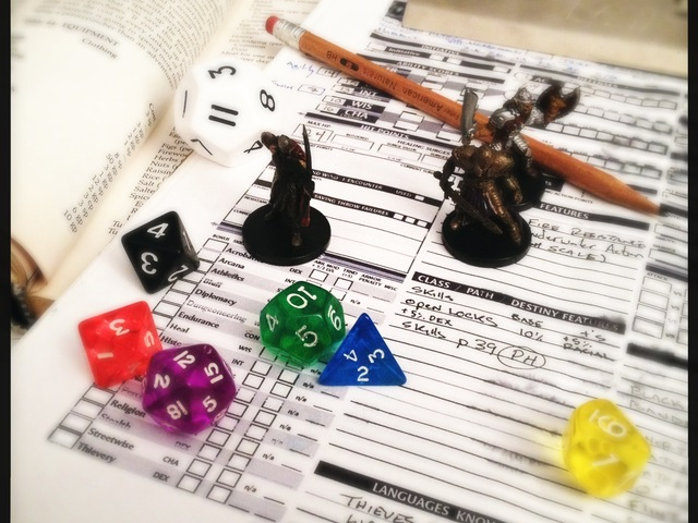 For those of you who don't know, old school D&D looks like this!