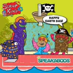 ScrapKins--Speakaboos logo for Pirate Ship app